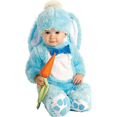 Handsome Lil 'Wabbit - Blau - Baby wachsen - Kinder-Kostüm - 6 bis 12 Monate