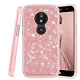 COTDINFOR Motorola Moto E5 Play Case Cute Diamond Cover