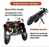 LiuXi Controlador de Juego móvil-Joystick Joystick Phone Holder 4.5in-6.5in Alta sensibilidad apuntando y disparando para Todos los Juegos de Disparos-A