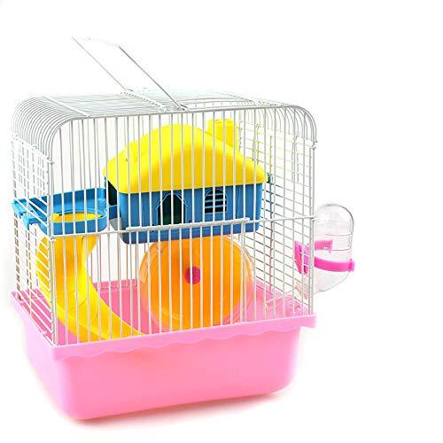 Yanxinenjoy kleine hamster kooi trompet draagbare speelgoed ventilator duurzaam en stevig