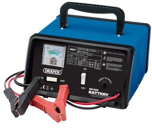 Draper 20487 Battery Charger, 6/12V, 5.6A