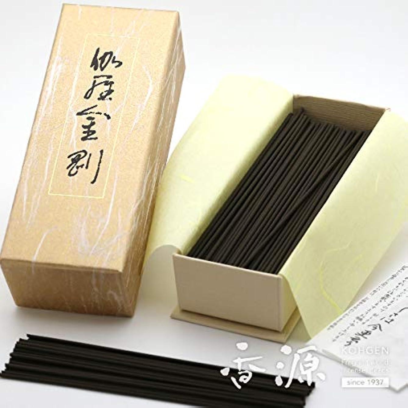ことわざ伸ばす減衰日本香堂のお線香 伽羅金剛 お徳用バラ詰