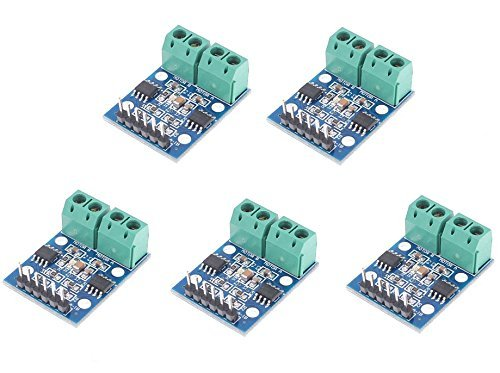 ARCELI 5 STÜCKE HG7881 800mA Dual DC Motor Treiber Controller Board für Arduino