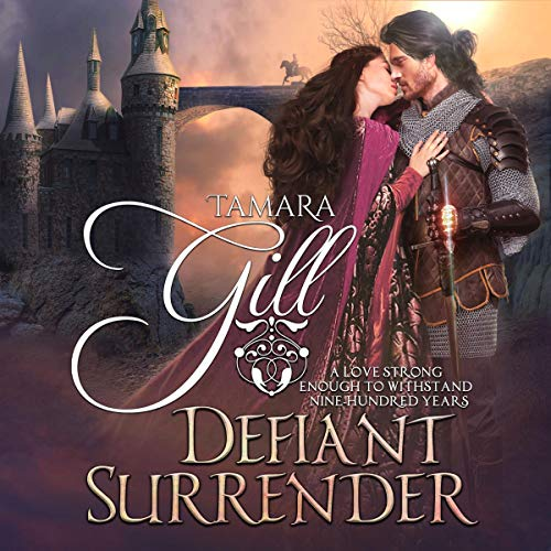 Defiant Surrender: A Medieval Time Travel Romance cover art