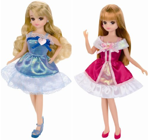 Rika-chan LW-18 party one-piece set Rose & Marine (japan import)