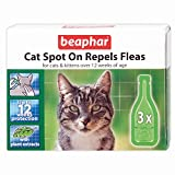 Beaphar Cat Spot On Repels Fleas - 12 weeks protection