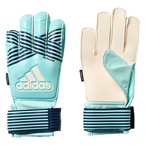 adidas Kinder ACE FS Junior Torwarthandschuhe, Energy Aqua f17/energy Blue s17, 7.5