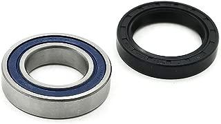 Left Rear Axle Wheel Hub Housing Bearing Seal Kit For Honda ATV Foreman 400 450 500 Rubicon 500 Rancher 350 400 420 Replace 91055-HN5-681 & 91255-HA0-681