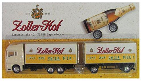 Zoller Hof Sigmaringen Nr.06 - Lust auf unser Bier - Man TG - Hängerzug