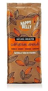 Marca Amazon - Happy Belly Almendras enteras, 500 g