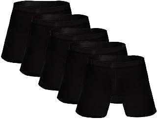 Mens Underwear 4XL,Boxers Long Leg,Briefs Knickers,Thongs Knickers,Men 'S Swim Trunks Black