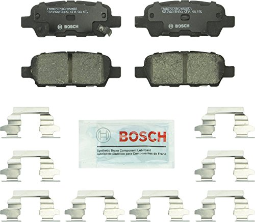Our #1 Pick is the Bosch BC905 QuietCast Premium Ceramic Disc Brake Pad