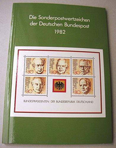 Die Sonderpostwertzeichen der Deutschen Bundespost 1982.