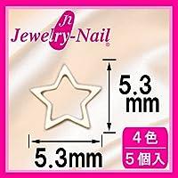 [フレーム]ネイルパーツ Nail Parts フレームスター(M) ゴールド 日本製 made in japan