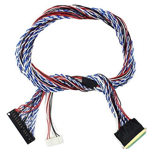 LVDS-Kabel IPEX-40P 2ch 6bit 50cm Länge (MEHRWEG)