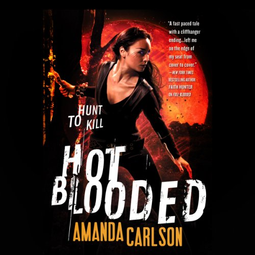 Hot Blooded audiobook cover art