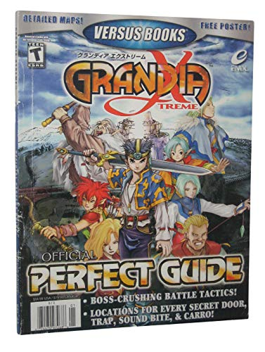 Versus Books Official Perfect Guide for Grandia Xtreme