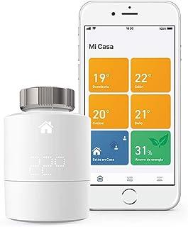 tado° Cabezales Termostáticos Inteligentes Kit de Inicio V3+ Control inteligente de calefacción, trabaja con Amazon Alexa, Apple HomeKit, Asistente de Google, IFTTT