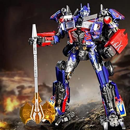 Guerra de Transformers para Cybertron TRANSFORMERS TOYS Heroico Optimus Prime Action Figura: Timeless Figure a gran escala, cambios en el camión de juguetes - Juguetes para niños 6 y más juguetes de t