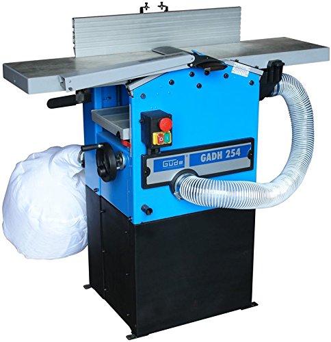 Güde GADH 254/230V Elektrischer Hobel 1600 W 6700 RPM Schwarz, Blau, Edelstahl - Elektrische Hobel (81 kg, AC)