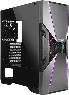Antec DA601 Midi-Tower Negro - Caja de Ordenador (Midi-Tower, PC, De plástico, SPCC, Negro, ATX,EATX,Micro ATX, 16 cm)