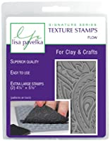 "Lisa Pavelka Stamp Set 4.25""X5.5"" Sheets 2/Pkg-Flow-Foliage & Paisley (並行輸入品)"