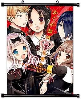 ROUNDMEUP Kaguya-sama Love is War Anime Fabric Wall Scroll Poster (16x23) Inches [A] Kaguya-sama love-10