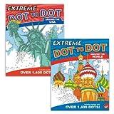 MindWare Extreme Dot to Dot Coloring Set of...