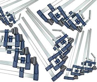 20 st tegelprofil F klämmor stång klämma snabb glidning träklämma 12 tum- 300 x 50 mm