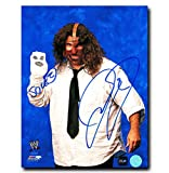 CoJo Sport Collectables Inc. Mick Foley WWE Autographed Mankind and Socko 8x10 Photo