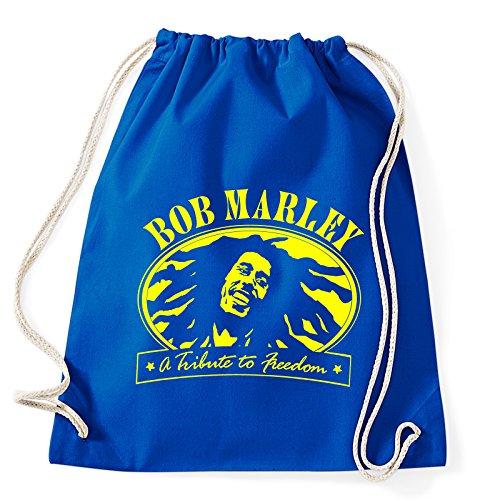 Art T-shirt Bob Marley Freedom gymtas gymtas