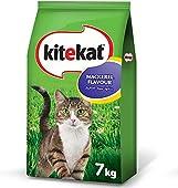 طعام القطط بنكهة سمك الماكريل من كايتكات، بوزن 7 كجم