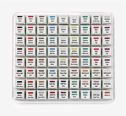 juqingshanghang1 Mechanischer Tastaturöffner-Tester Mit 72 Offenem Tank Mit Farbstoff-Sub-Tastatur (Color : 72 Switch Tester)