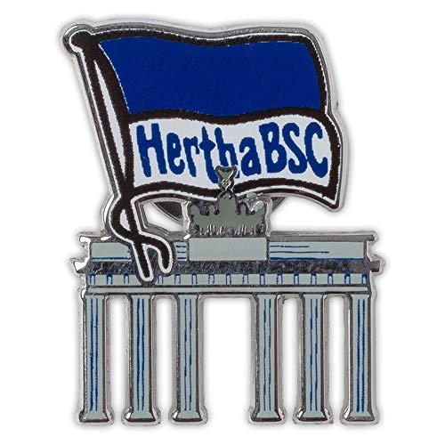 Hertha BSC Berlin Pin - Brandenburger Tor - Button, Anstecker Logo - Plus Lesezeichen I Love Berlin