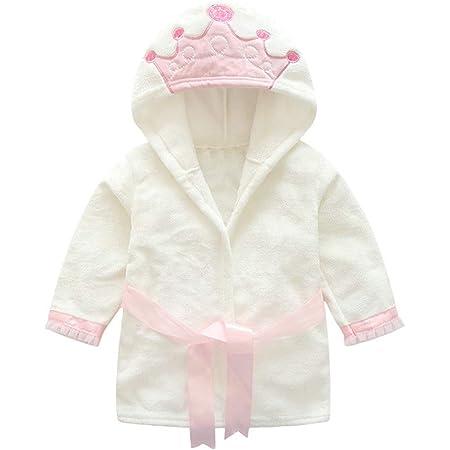 Niños Albornoz con capucha camisón, bebé toalla de baño pijamas Baño robe Animal ropa de dormir linda bata de baño