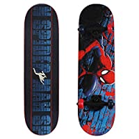 1 Skateboard per order COMPLETE SKATEBOARD: Complete 28 inch trick skateboard with thick, durable 9-ply maple wood deck DESIGN MINDED: Double kicktail design provides greater control, allows for wide range of tricks, and easy braking SMOOTH RIDE: PVC...
