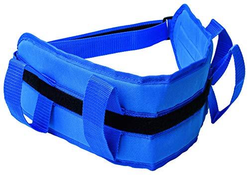 Pflegehome24® Umsetzhilfe Patiententransport Hebegürtel Patiententransport Transfergurt blau