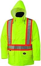 Pioneer V1090160U 150D Hi-Vis Waterproof Safety Jacket - Yellow/Green (2XL)
