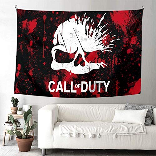 Wall Tapestry - C-all of D-uty Modern W-arf Gaming Theme Decor Tapestry,Bedroom Living Room Dorm...