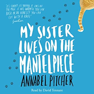 My Sister Lives on the Mantelpiece                   By:                                                                                                                                 Annabel Pitcher                               Narrated by:                                                                                                                                 David Tennant                      Length: 5 hrs and 55 mins     13 ratings     Overall 4.8