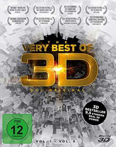The very Best of 3D - Das Original - Vol. 1-9 (3 Disc Box) [3D Blu-ray]