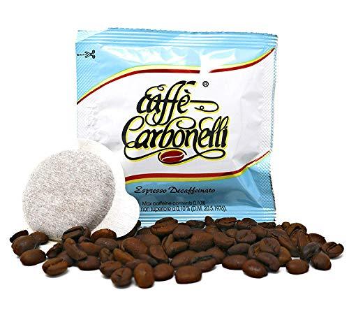 150Kaffeepads ESE Caffè Carbonelli Entkoffeiniert - Neapolitanischer Espressokaffee