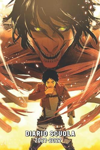 Diario Scuola 2021 2022 Manga: Agenda giornaliera 2021 -2022 | Uso del tempo ,ragazza e ragazzo | Calendario ecc - Studente e allievo (elementare, college, liceo)