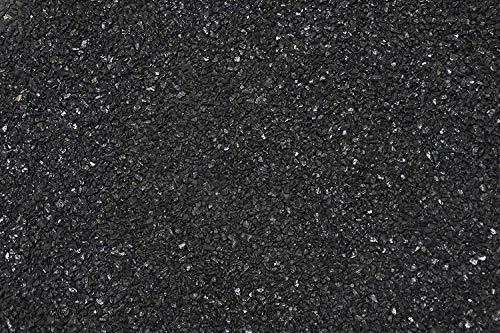 Dekogranulat Granulat Streudeko Farbgranulat Dekosteine Kies Farbe: schwarz/glänzend ( 1 kg.) Körnung 0,5 - 1, 4 mm 1,09/100 gr.