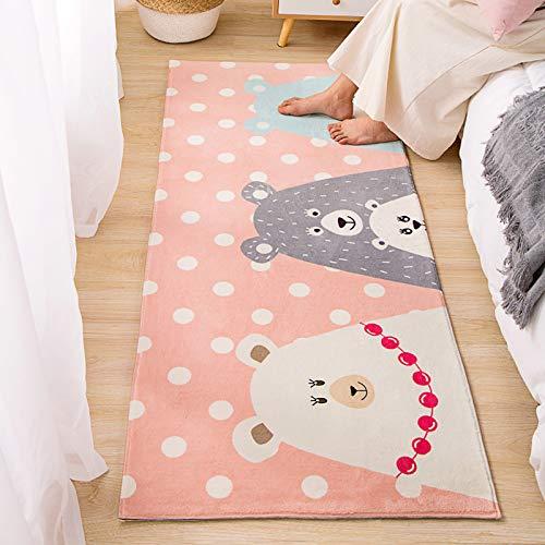 XYGB Modelo de Gato Lindo Alfombra de Noche, casa Limpie Las alfombras peludas, tamaño: 80x200cm Z- 60 * 160cm