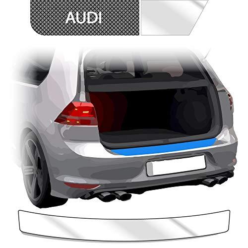 BLACKSHELL Ladekantenschutz inkl. Premium Rakel für A3 8V Sportback 2012-2020 Transparent - passgenaue Lackschutzfolie, Auto Schutzfolie, Steinschlagschutz, Stoßstangenschutz
