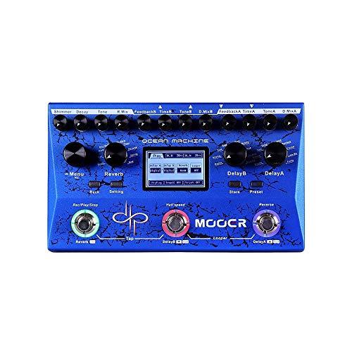 MOOER Efeito único para guitarra elétrica, azul (TDL3)
