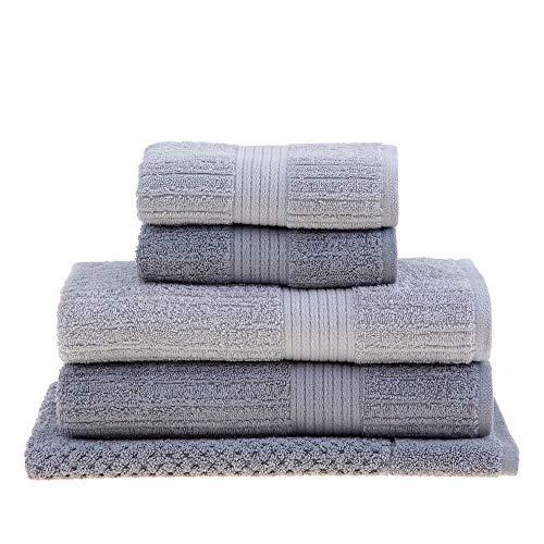 Jogo de toalha de banho Fio Penteado Gigante 5 peças Buddemeyer