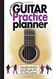 I progress with concentration Guitar Practice Planner- Scores for compositions - Write down your ideas - 120 pages to progress: Logbook for working ... and scales charts special planning sheet