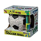 Franklin Sports I-Color Soccer Ball White, 3